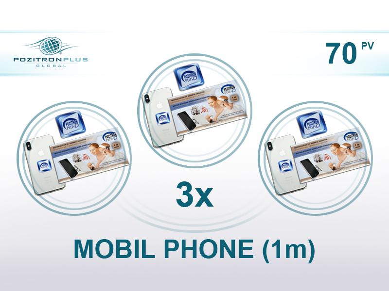 Pozitron Plus – STARTER: 3 x MOBILE PHONE (1 m)