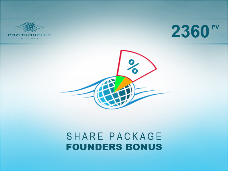 Share Package - FOUNDERS BONUS